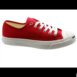 Converse Jack Purcell LTT OX Red  Unisex Sneakers